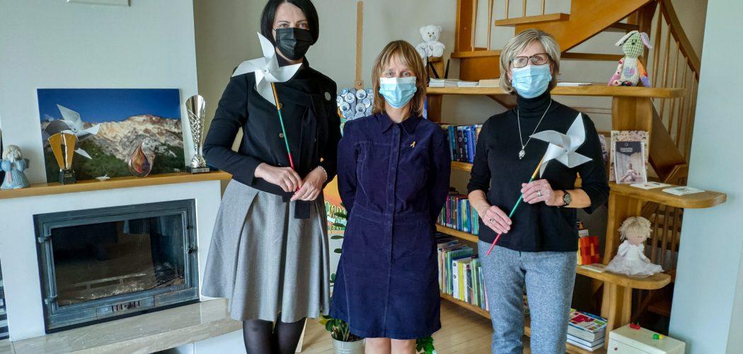 Lina Žukauskaitė, Edita Abrukauskienė ir Daina Siliūnas